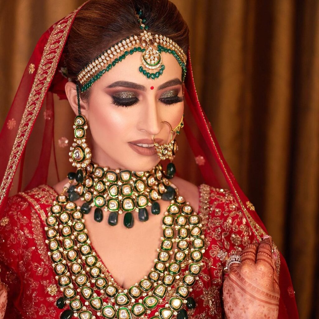 Glam Indian Bridal Makeup