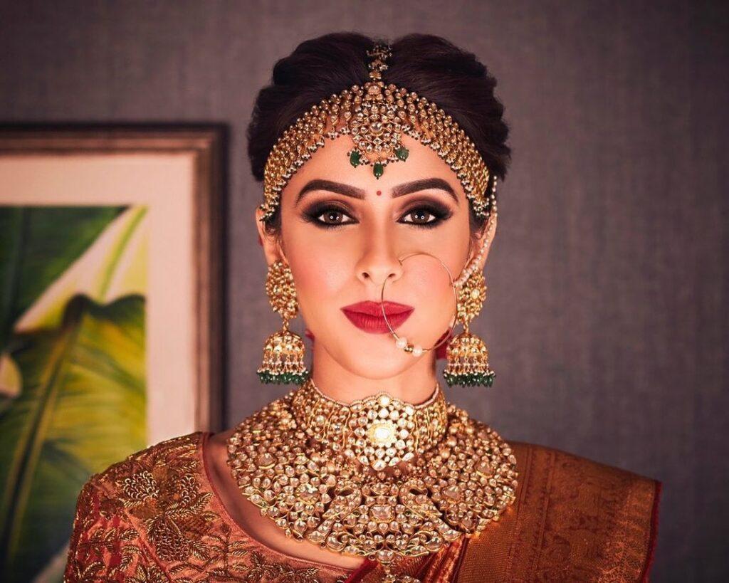 South Indian Bridal makeup Look