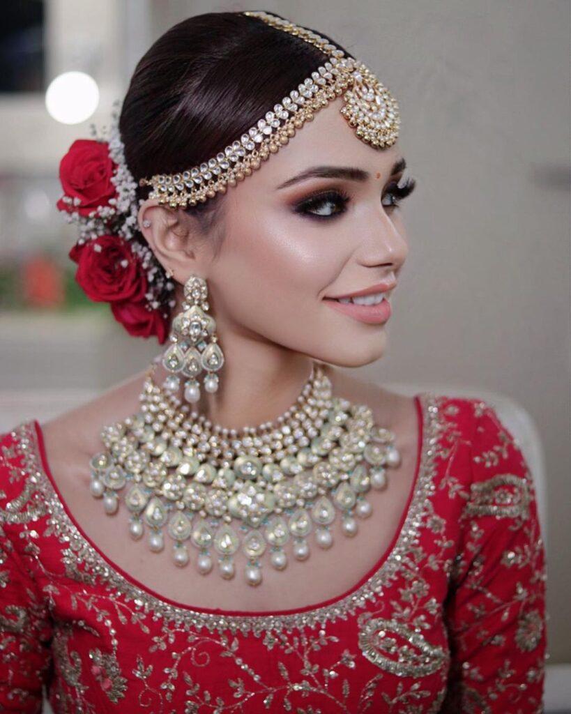 Kundan Mathapatti Set For Brides