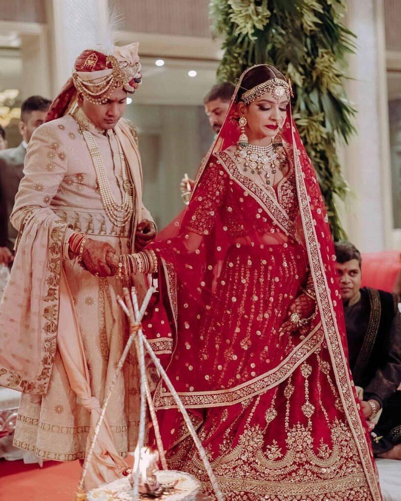 Bride Heavy Mathapatti Design 1