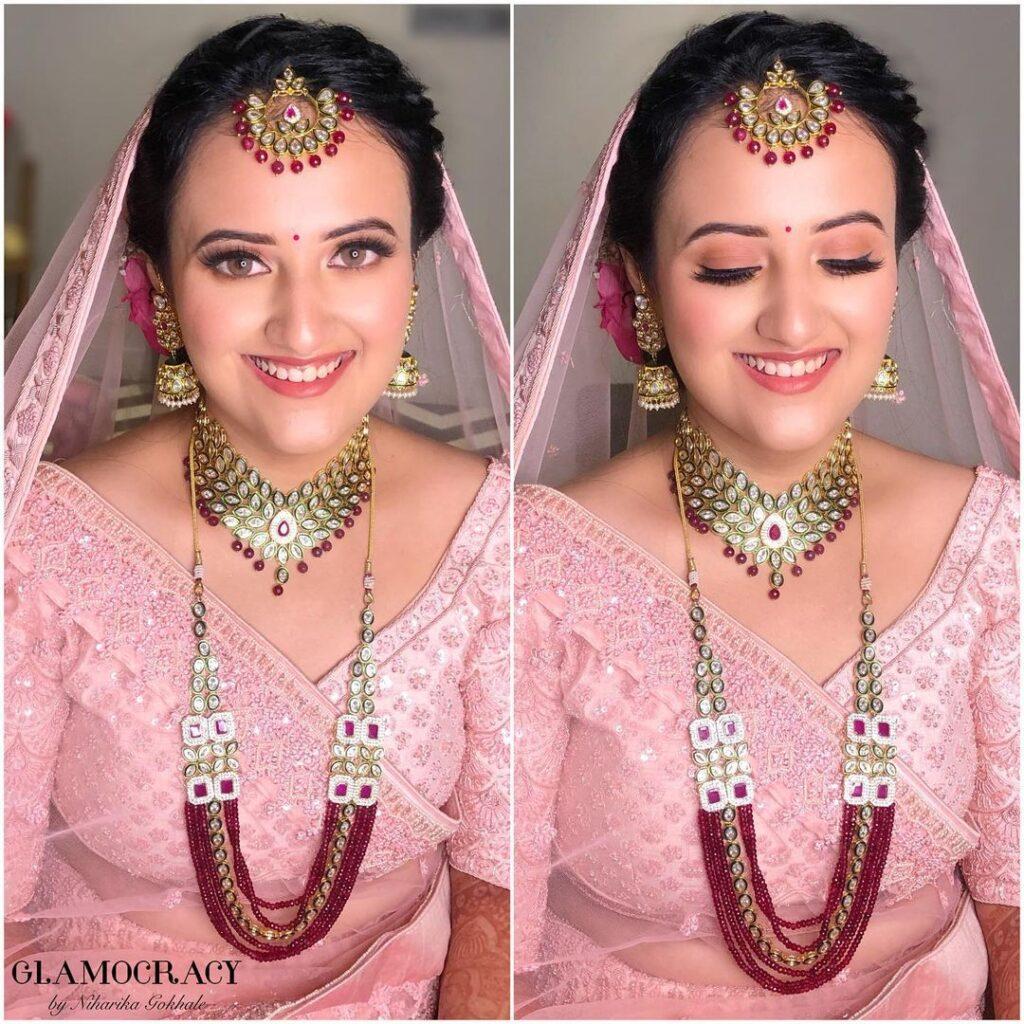 Minimal Indian Wedding Makeup