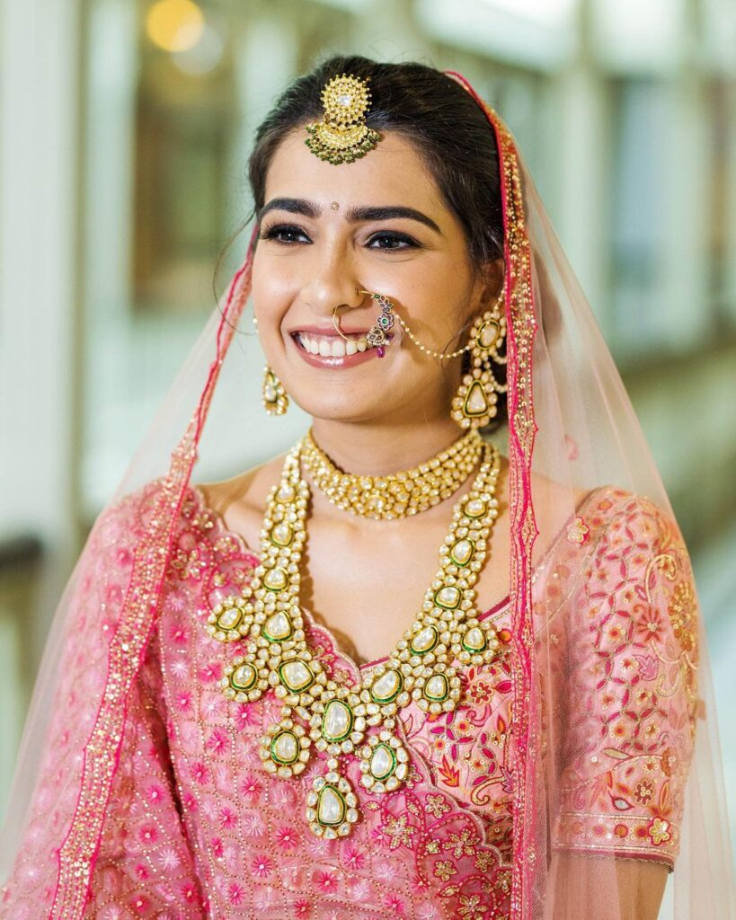 Glowing Indian Bridal Makeup Look