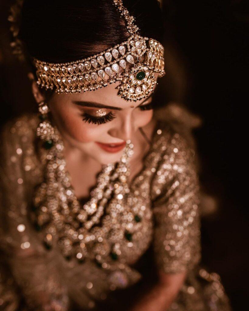 Kundan Heavy bridal Mathapatti