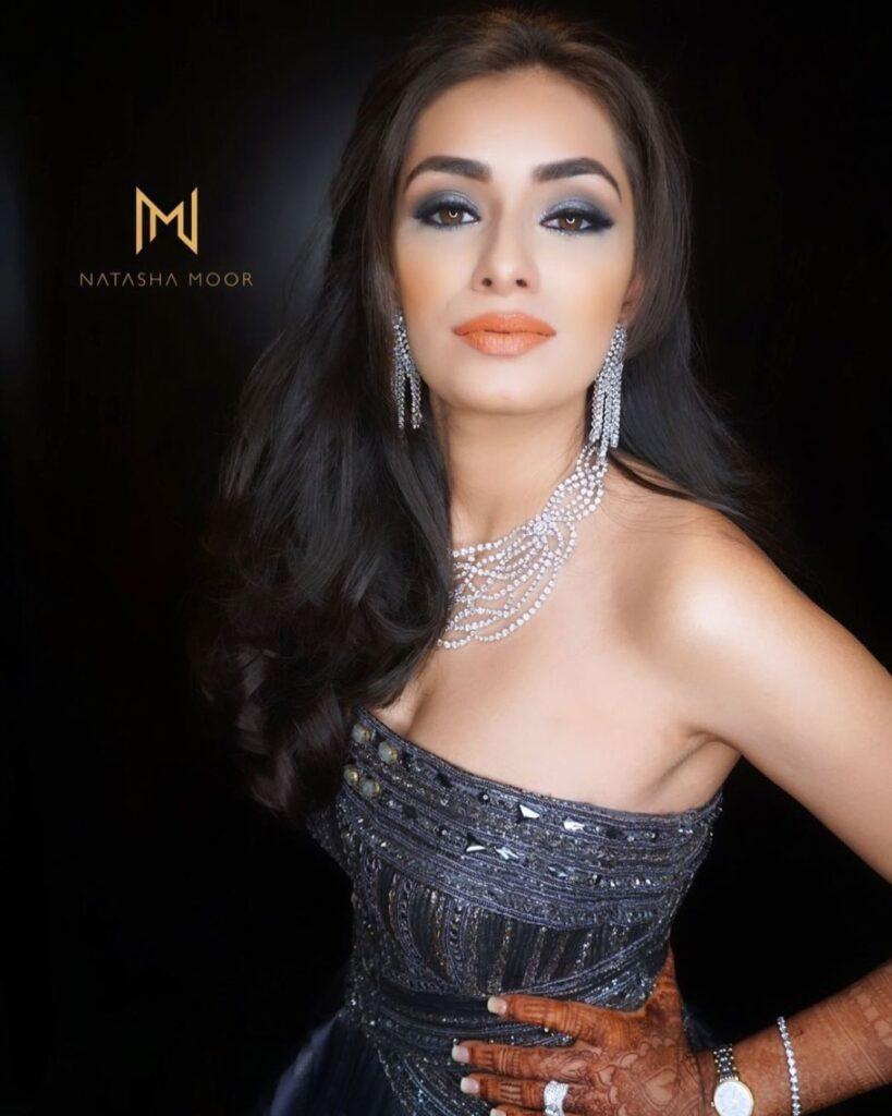 Indian Sangeet Makeup Look