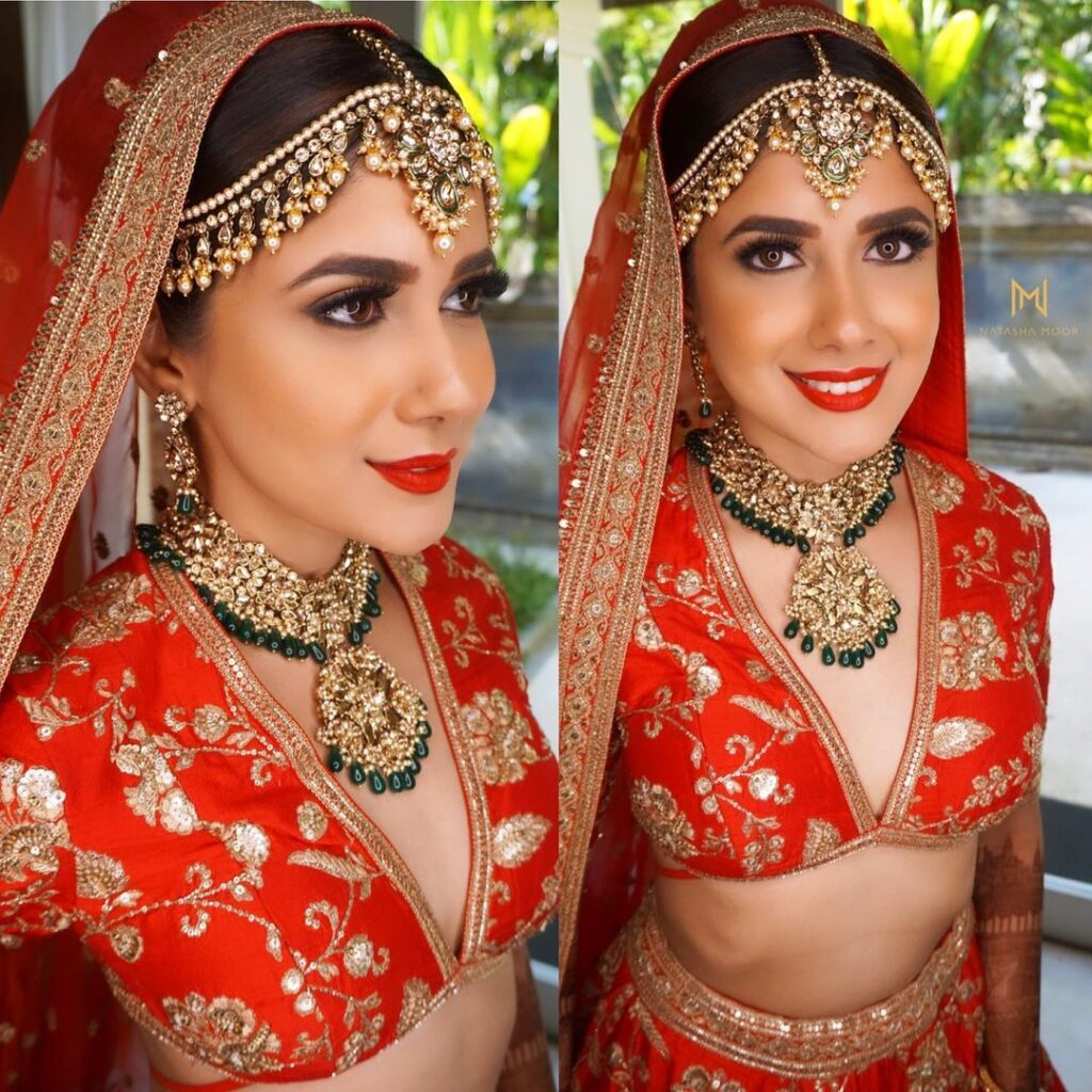 Indian Makeup Look For Brides
