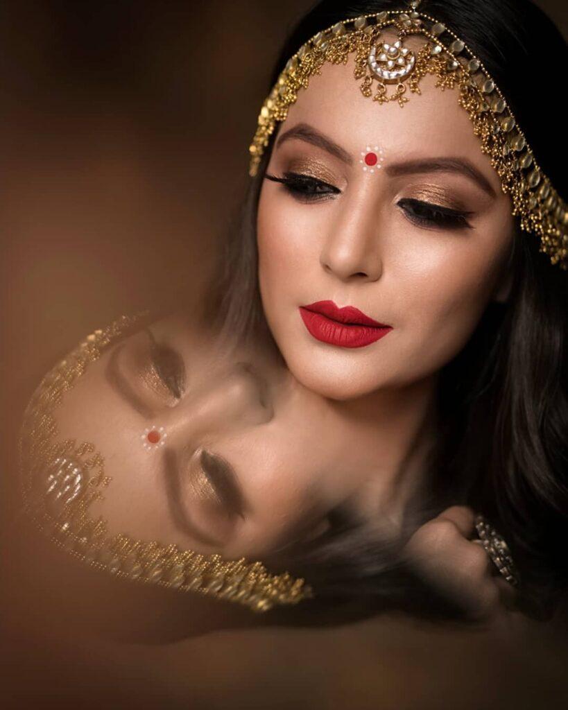 Latest Bridal Mathapatti Design
