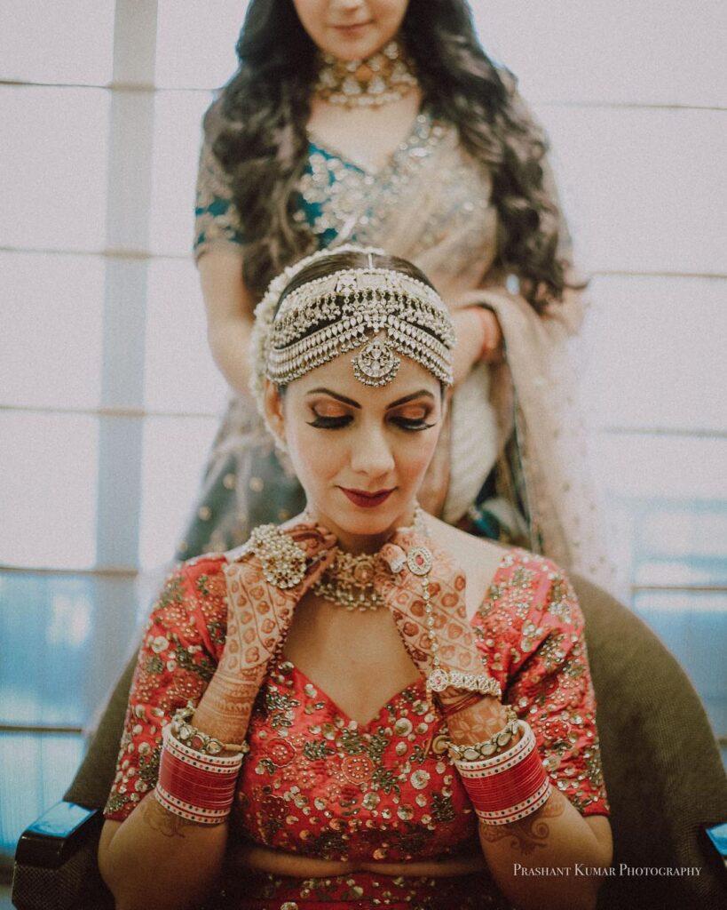 OTT Heavy Bridal Headgear