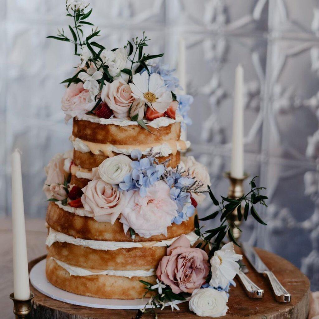 Exposed Cake