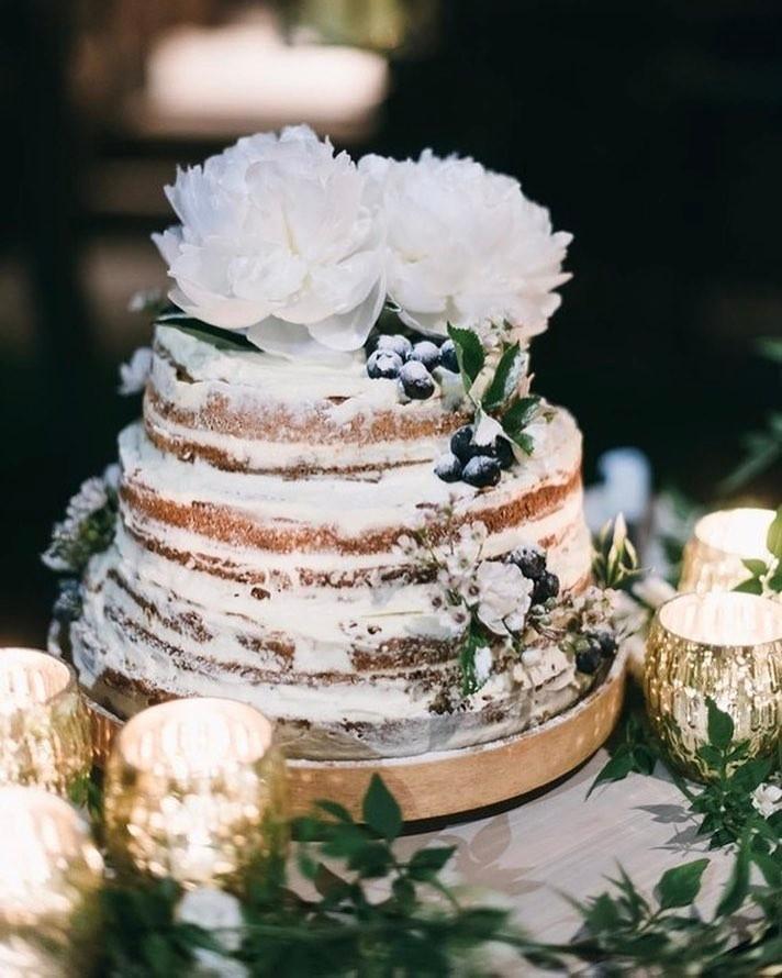Exposed Wedding Cake