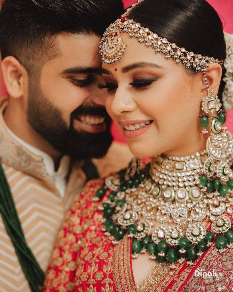 Simple Bridal Mathapatti
