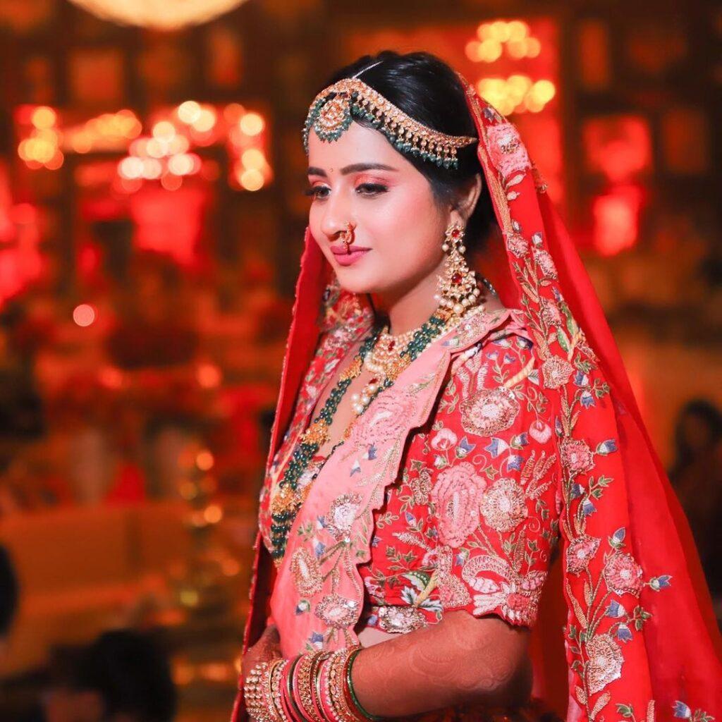 Airbrush Indian Brides Makeup Look