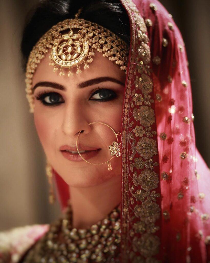 Bridal Mathapatti