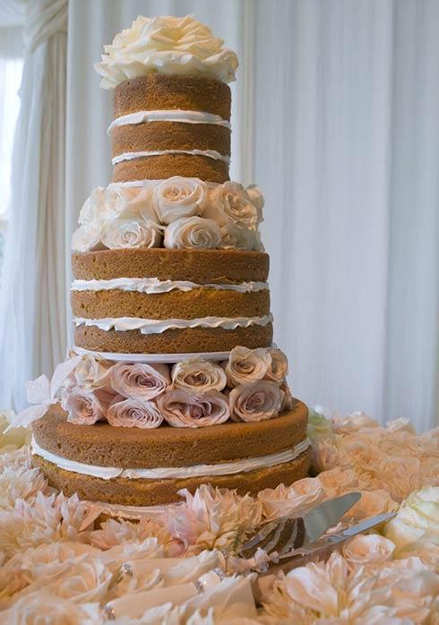 Hilary Duff Naked Cake