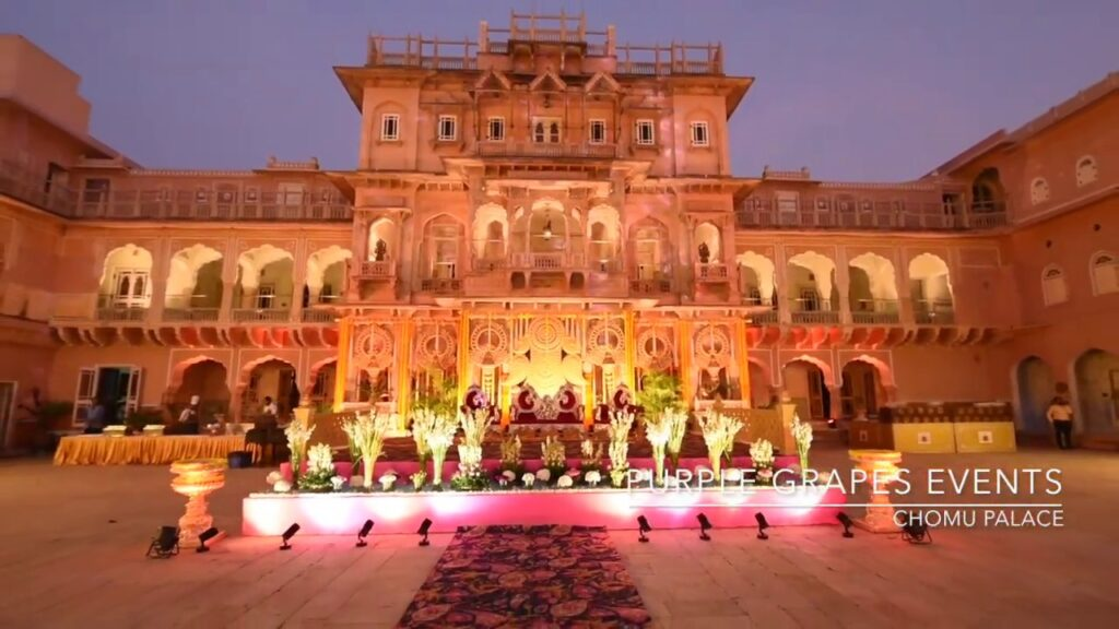 Chomu Palace Destionation Wedding Venue Jaipur