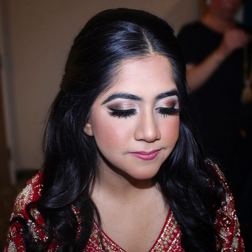 Jacqueline Adevai New York Makeup Artist For Indian Brides