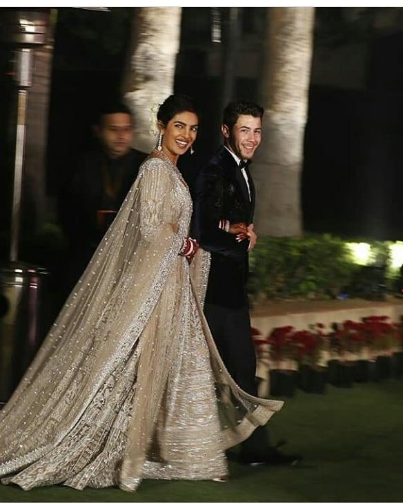 Priyanka Chopra Reception Lehenga