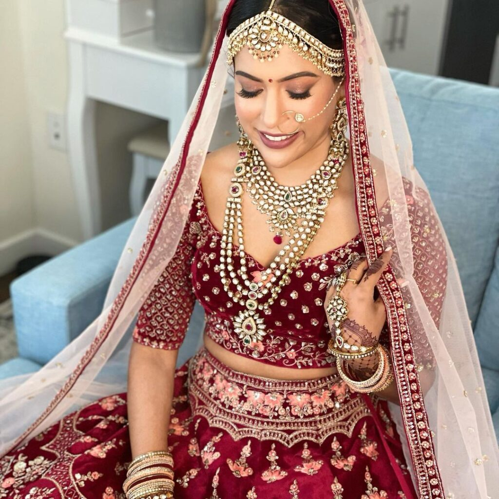Shailee Bharatia NYC bridal makeup artist for indian brides