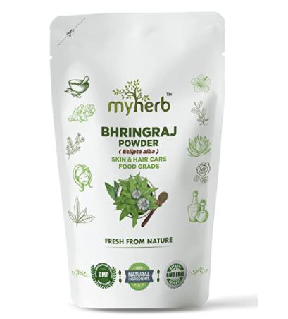 MYHERB 100% Natural Organic Bhringraj Powder
