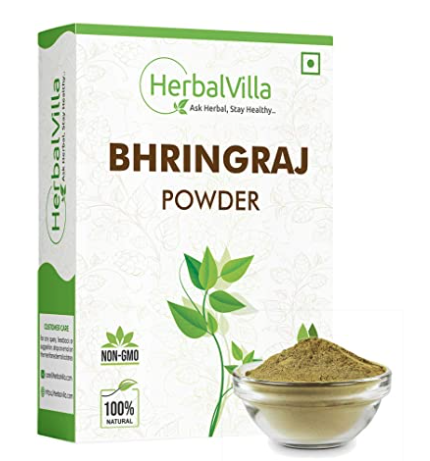 Herbalvilla Bhringraj Powder for hair growth