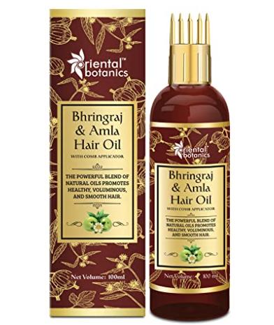 Oriental Botanics Bhringraj & Amla Hair Oil