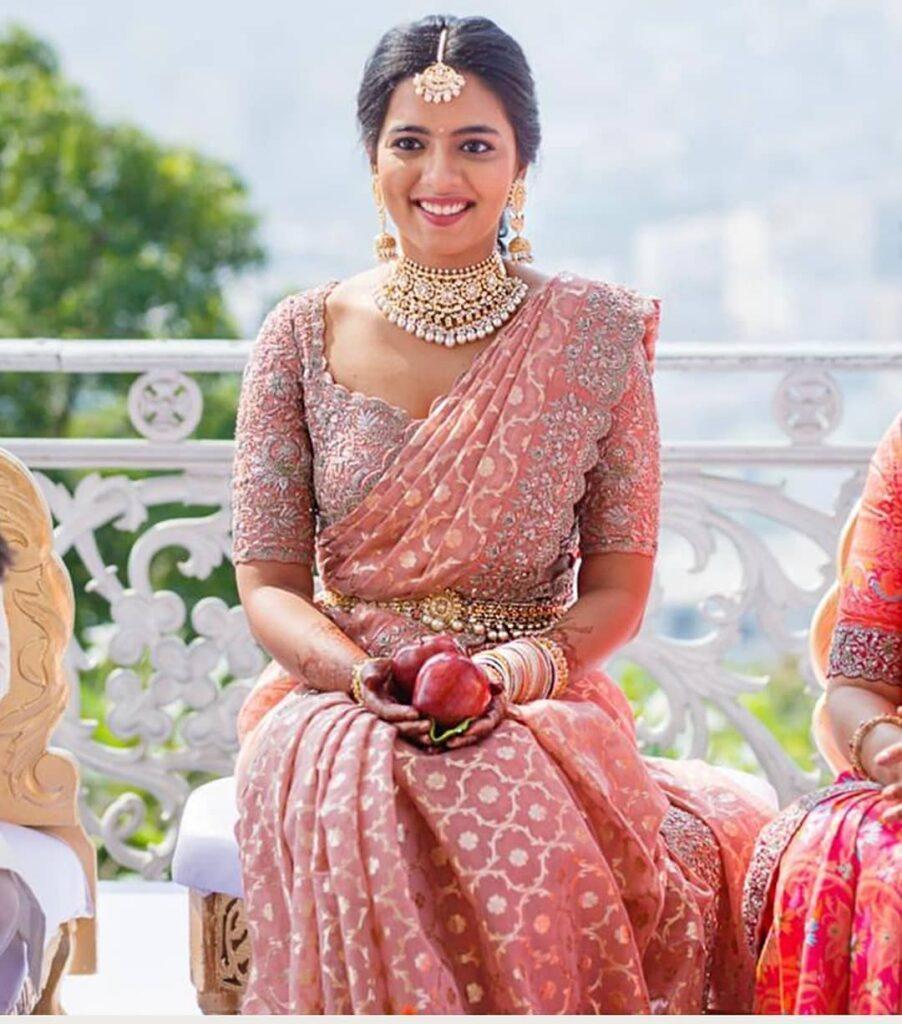 South Indian Wedding Saree Blouse