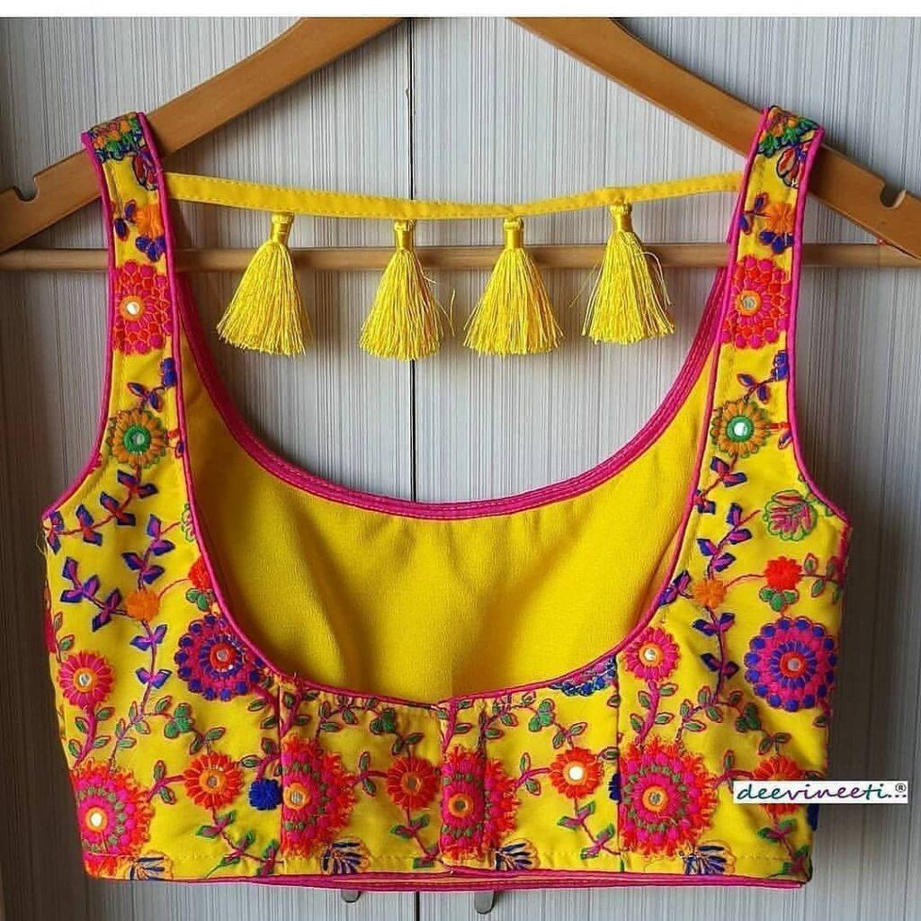 Designer Saree Blouse Patterns