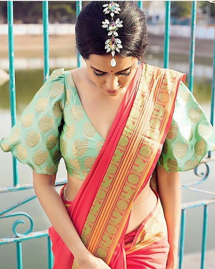 Saree Blouse Sleeves Design