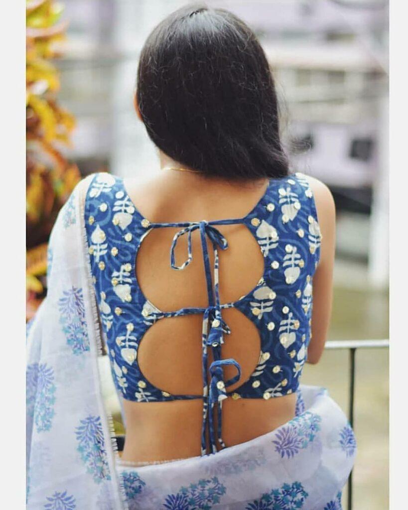 Designer Saree Blouse Pattern