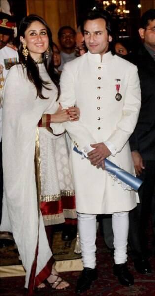 Saif Ali Khan Kareena Padma Shri
