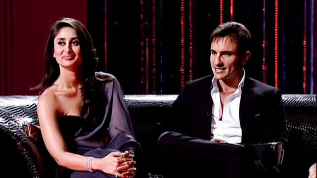 Kareena Saif Koffee With Karan