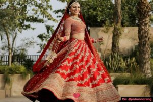 Why Do Indian Brides Wear Red?
