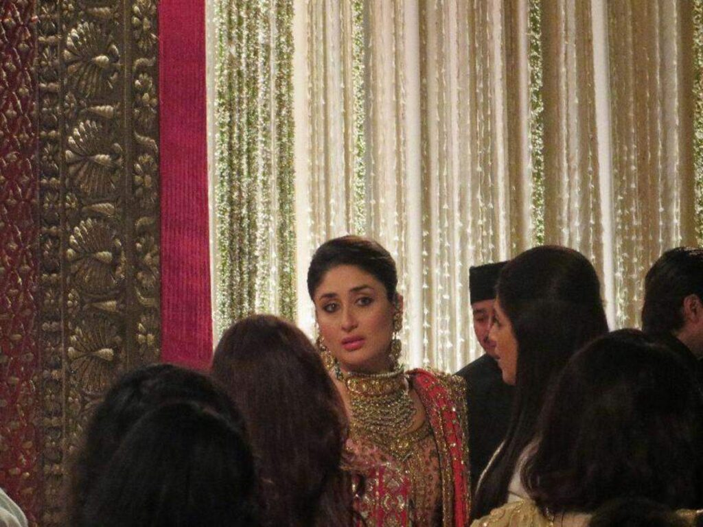 Saif Kareena Delhi Wedding Reception