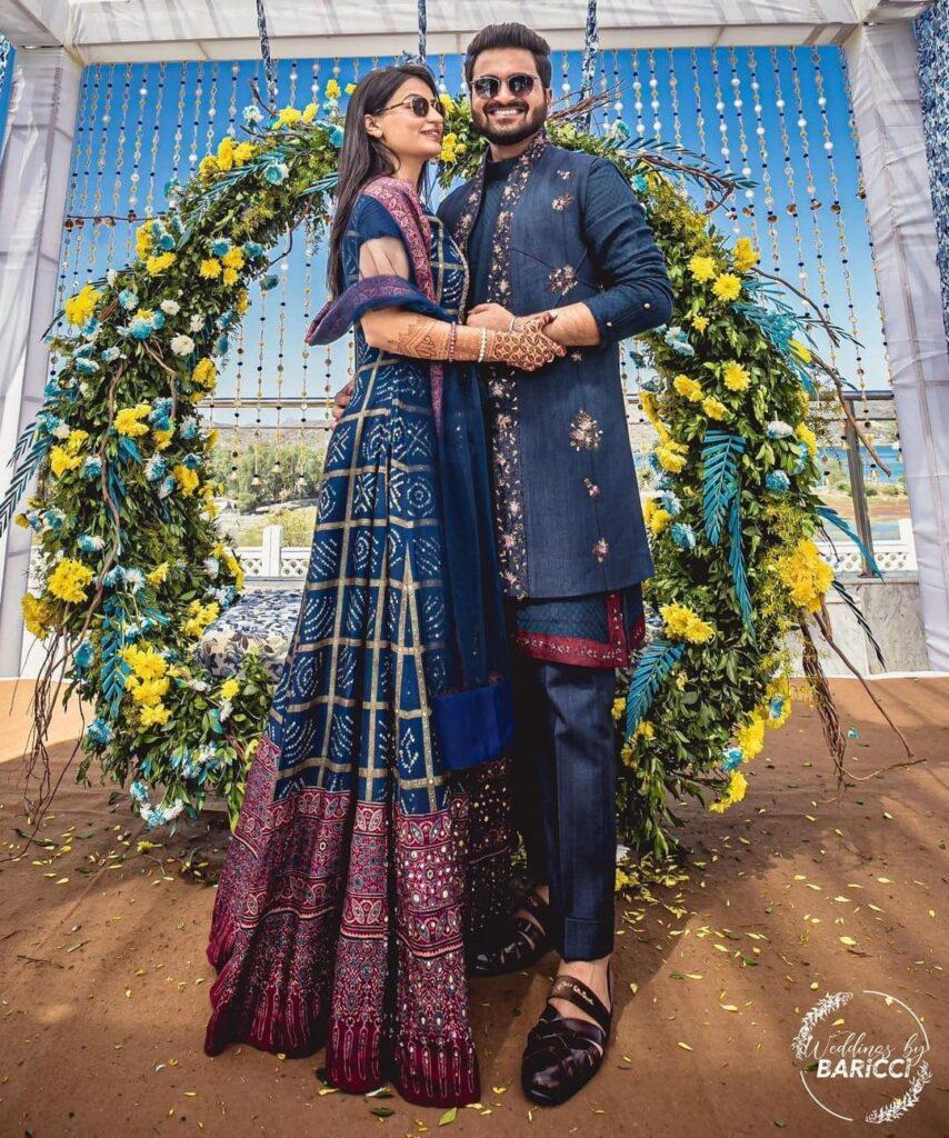 Engagement Dresses For Bride & Groom