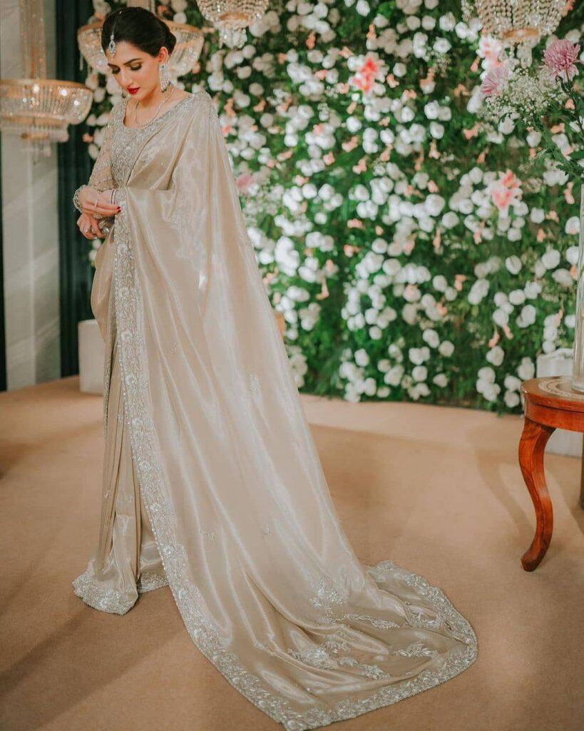 Engagement Saree For Brides