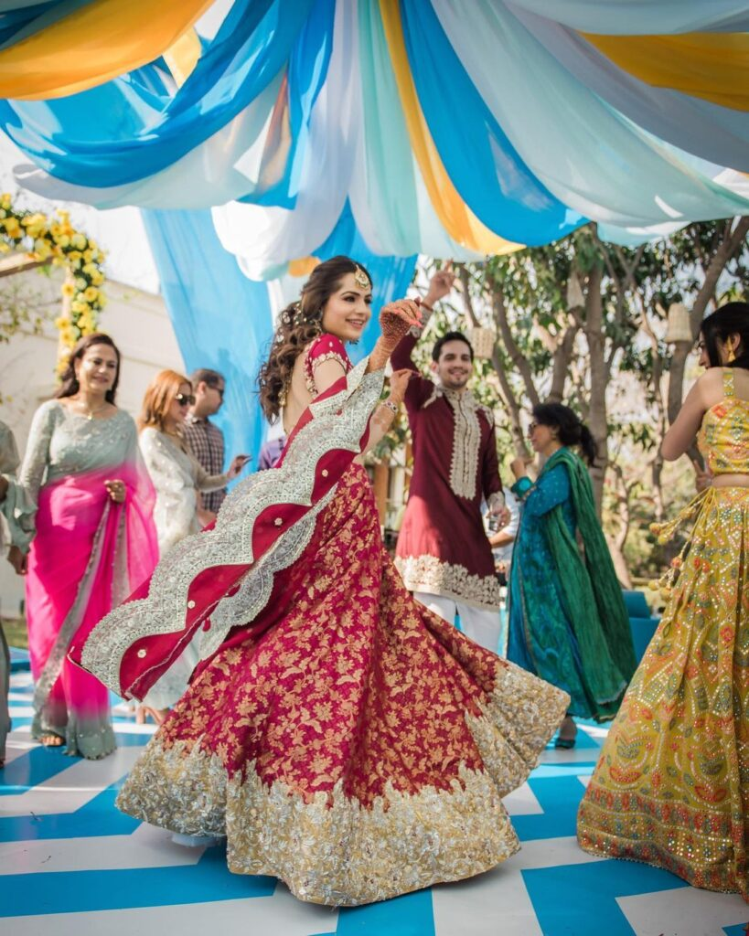 Latest Engagement Dresses For Brides
