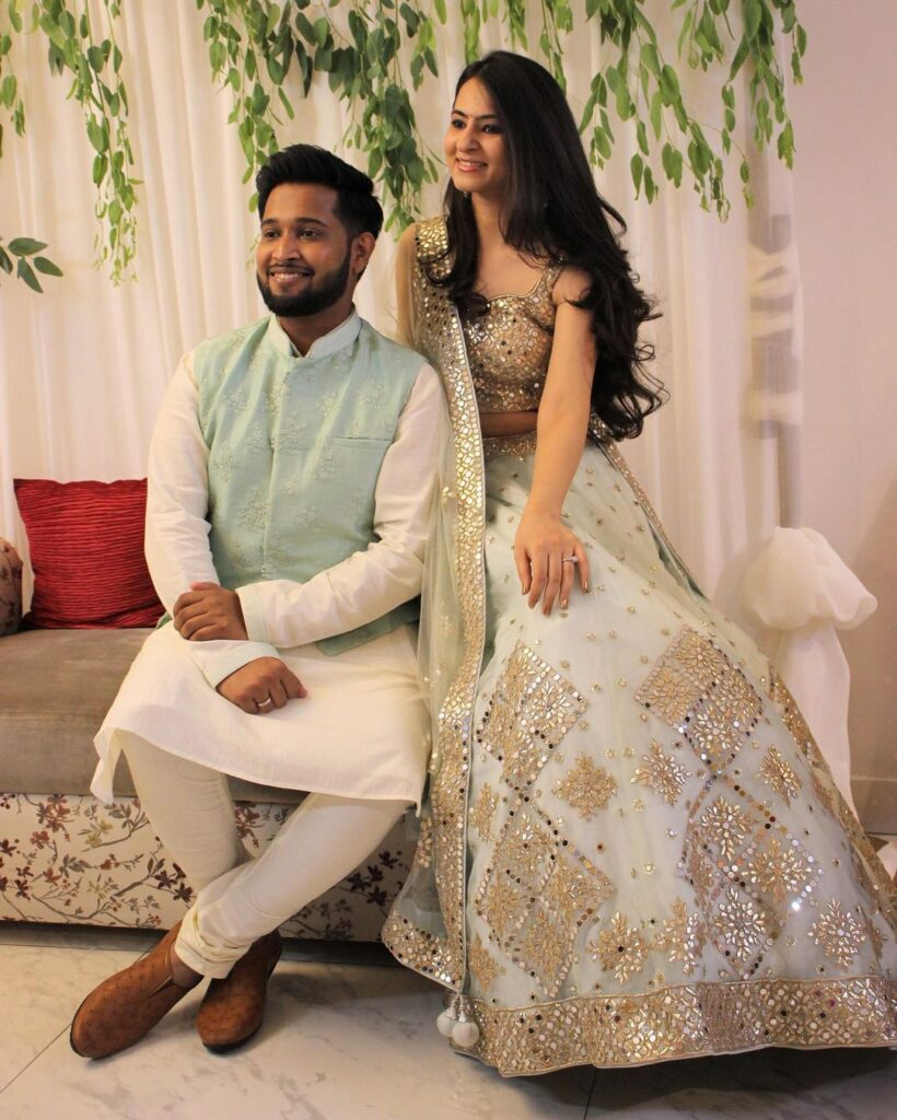 Engagement Dresses For Brides Chandni Chowk